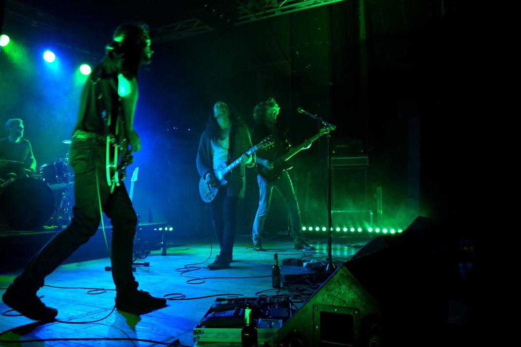 Iguana live im AJZ Talschock, Chemnitz