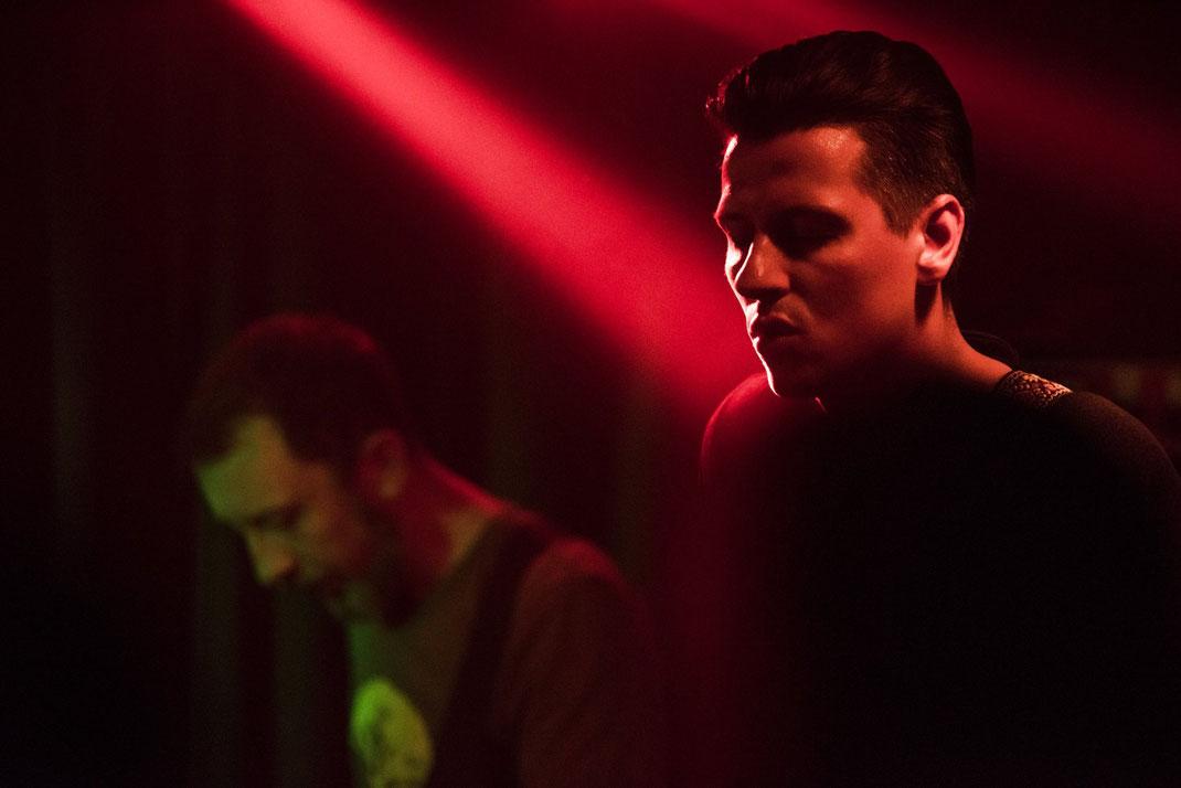 Suralin band live in Leipzig, Atomino Royal Label Tour 2016