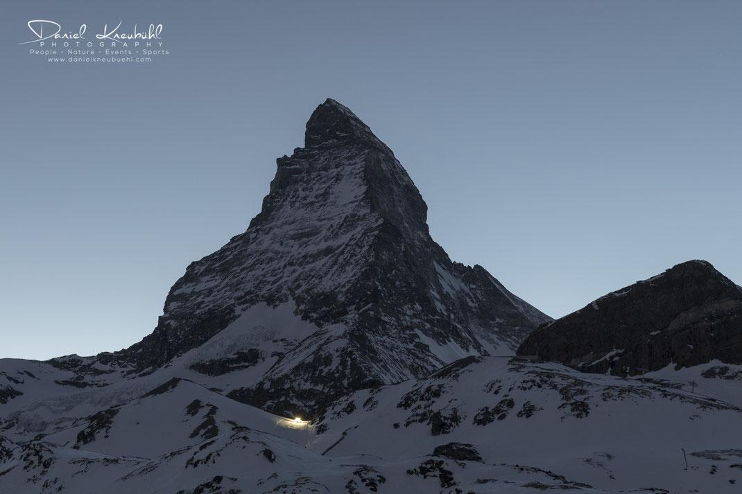 Matterhorn nach Sonnenuntergang, Matterhorn, Sonne, Sonnenuntergang, 4478m, Zermatt, Wallis, Schweiz, Switzerland, www.danielkneubuehl.com, Photographer/Fotograf: Daniel Kneubühl