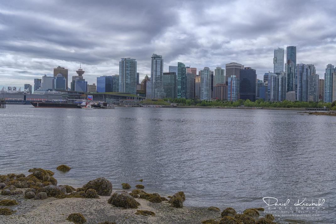 Skyline, Vancouver, Downtown, British Columbia, Canada, www.danielkneubuehl.com, Photographer/Fotograf: Daniel Kneubühl