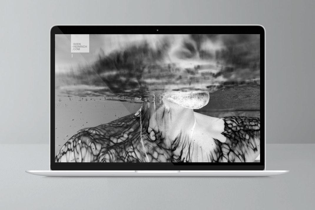 Web und UI Design: Sven Heinrich Fotograf, von Andreas Ruthemann