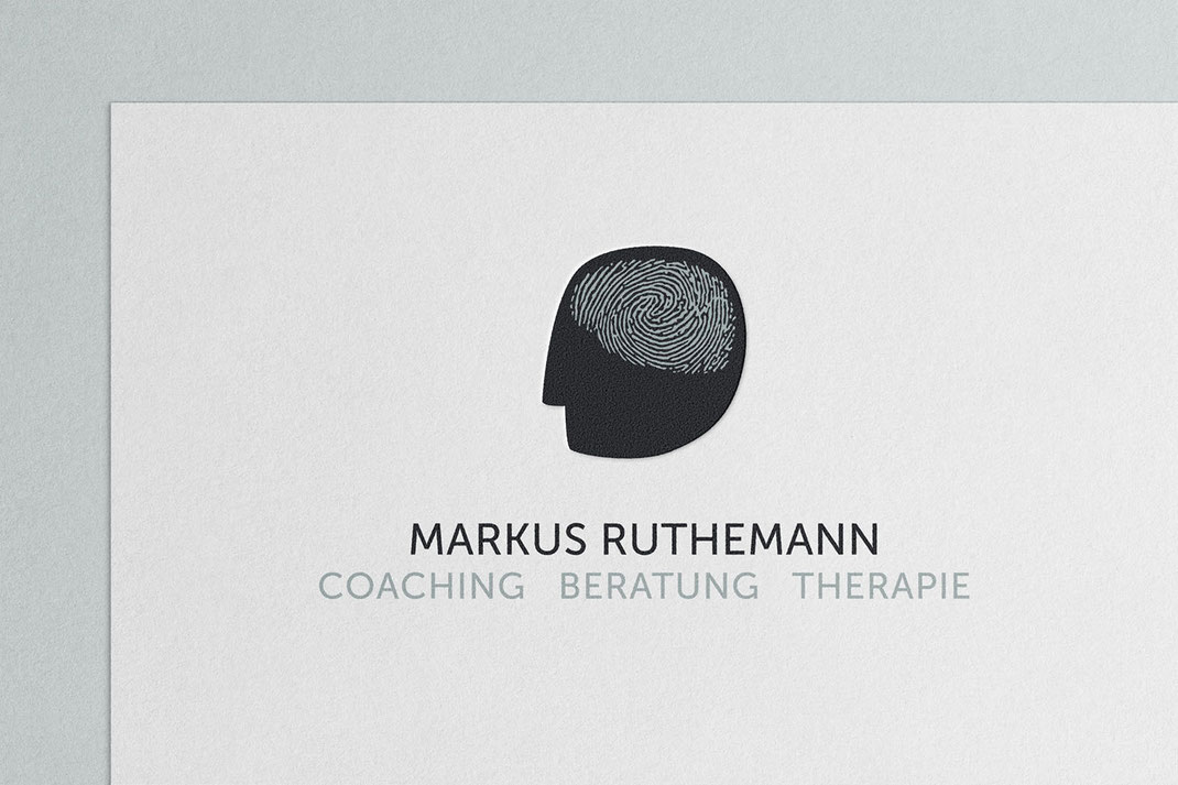 Logo Design: Markus Ruthemann Coaching Beratung Therapie, von Andreas Ruthemann