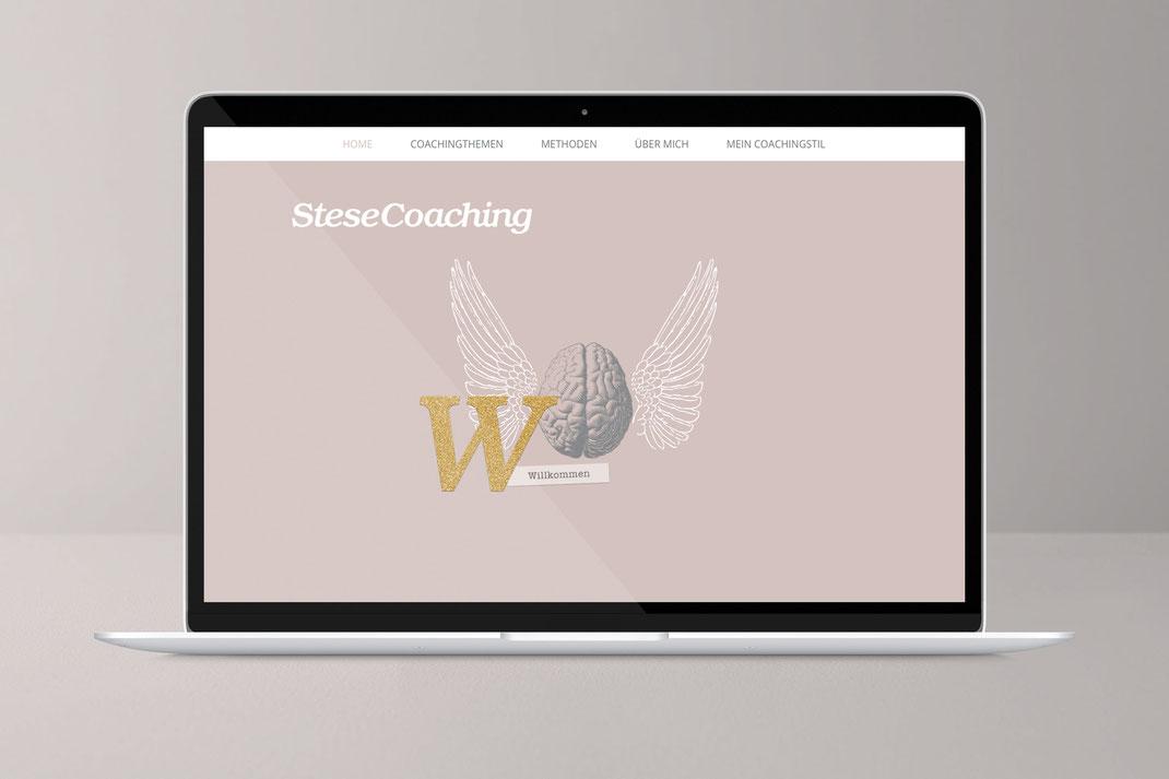 Web und UI Design: SteseCoaching , von Andreas Ruthemann