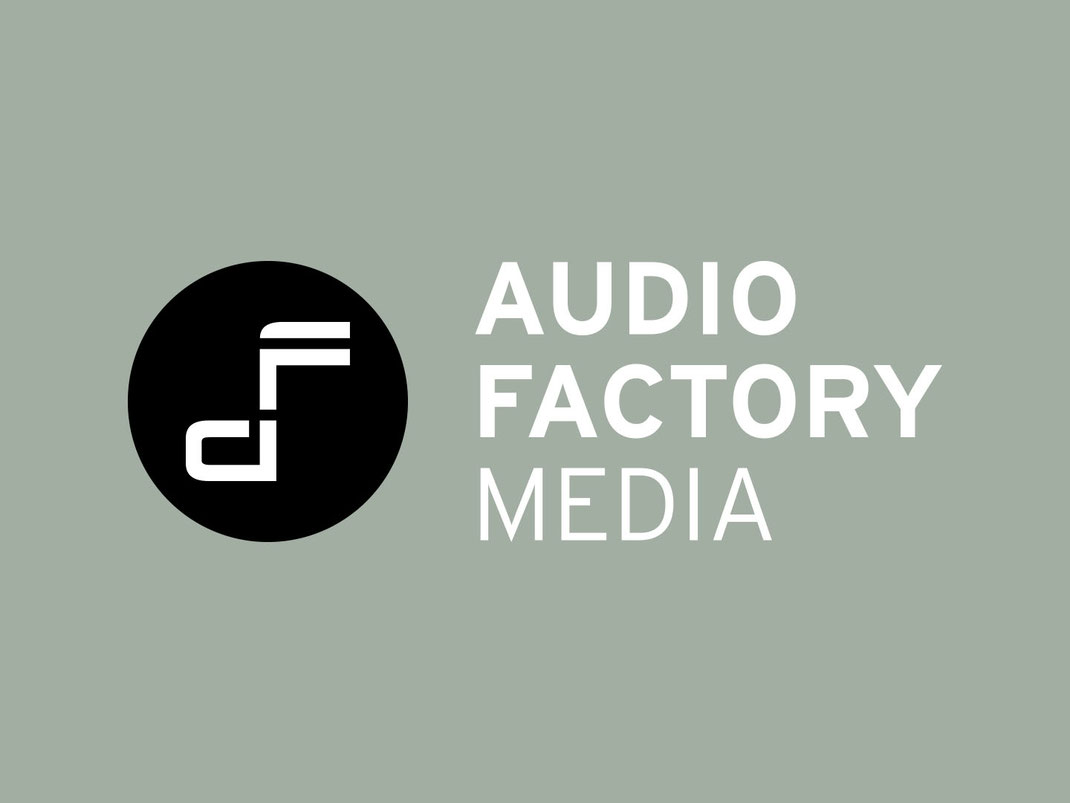 Logo Design: Audio Factory, Wort-Bildmarke