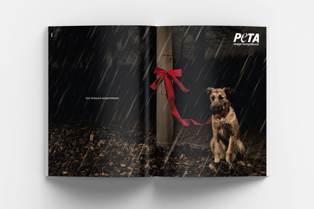 Peta Print Kampagne, Art Direktion Andreas Ruthemann