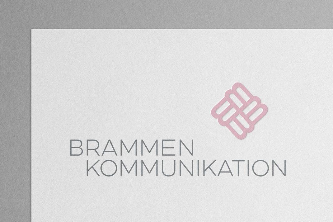 Logo: Brammen Kommunikation, von Andreas Ruthemann