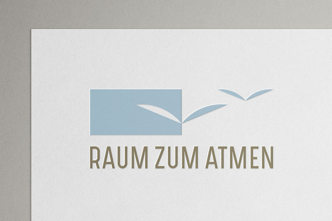 Logo Design: Raum zum Atmen, Ulrike Sprock, von Andreas Ruthemann