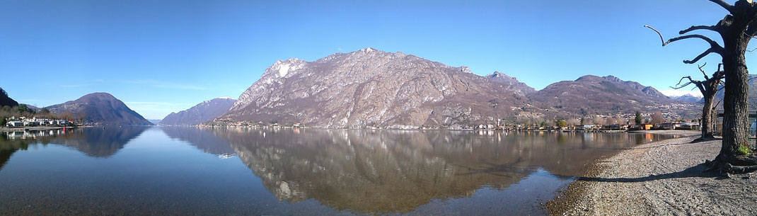 Panorama am Luganer See