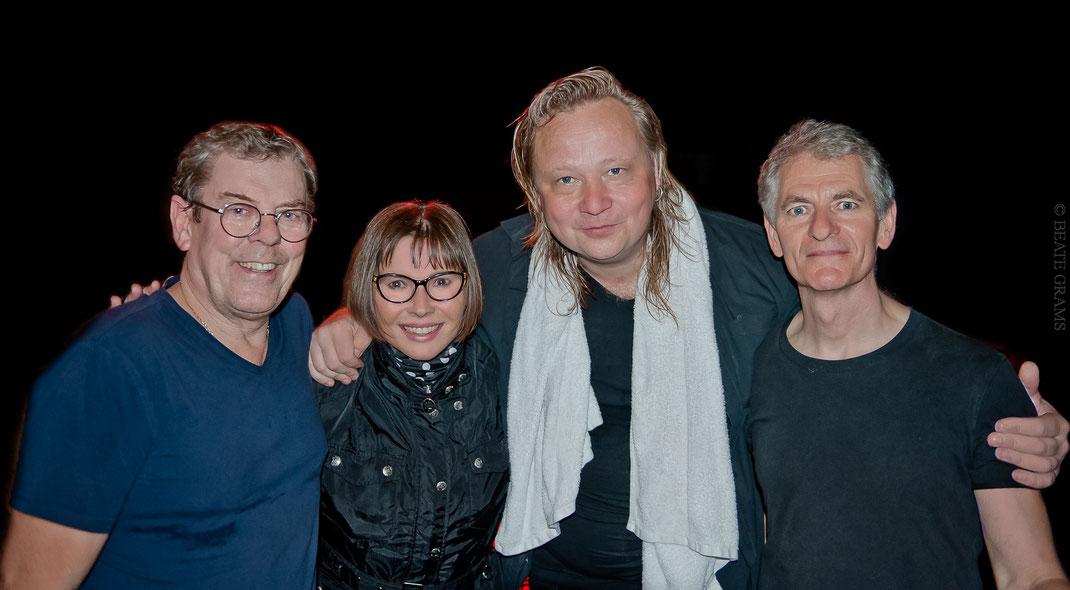 Band of Friends - Gerry McAvoy, Marcel Scherpenzeel, Brendan O'Neill © 27.04.2019 BEATE GRAMS