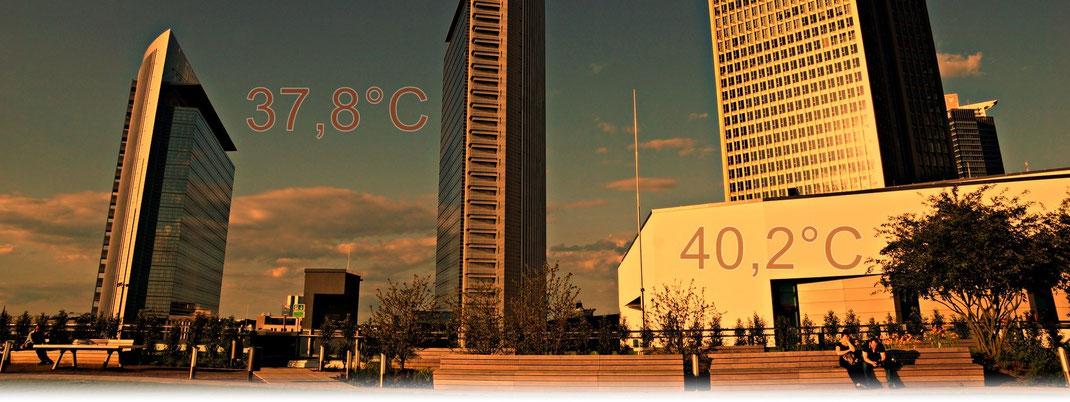 Absolute Höchsttemperaturen deutscher Großstädte | Bildquelle: Welt der Synoptik