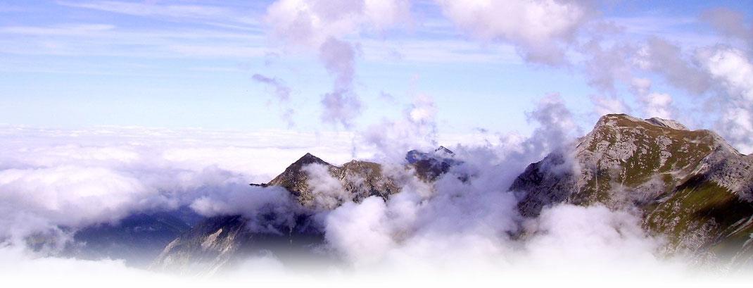 © Welt der Synoptik | Konvektion über den Alpen