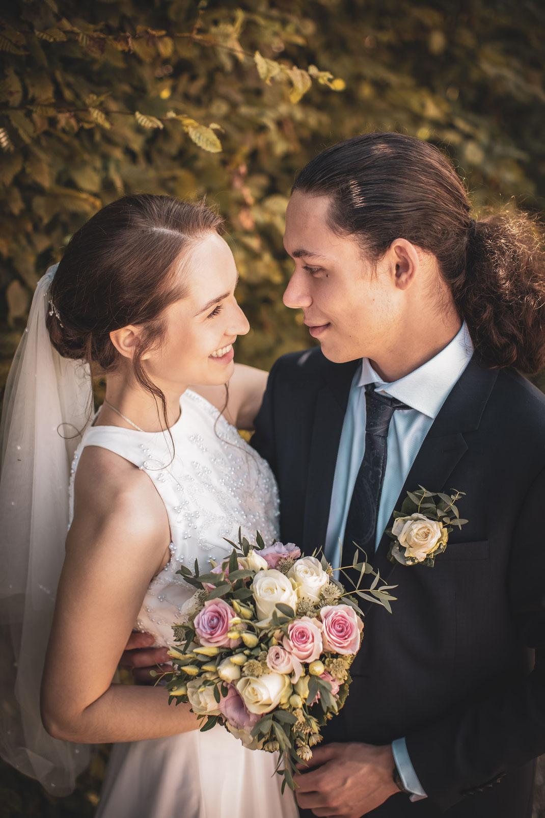 Hochzeitsfoto für Leben