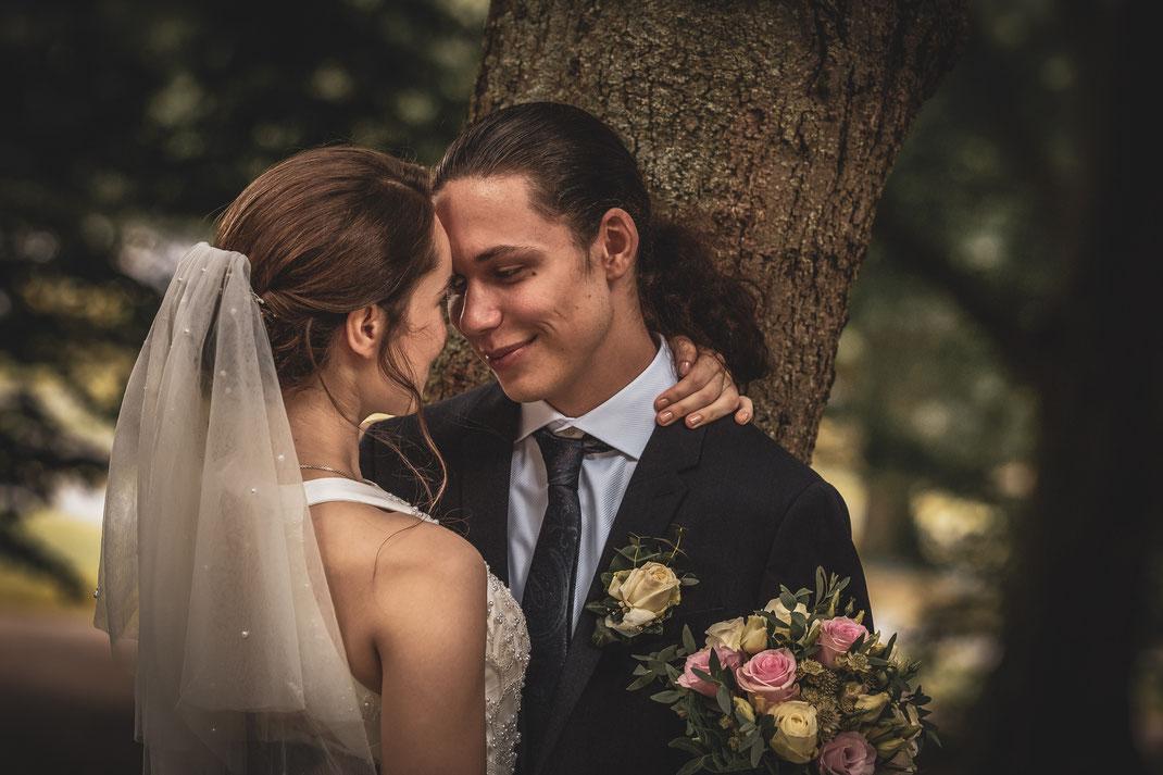 Traumhaftes Brautpaar