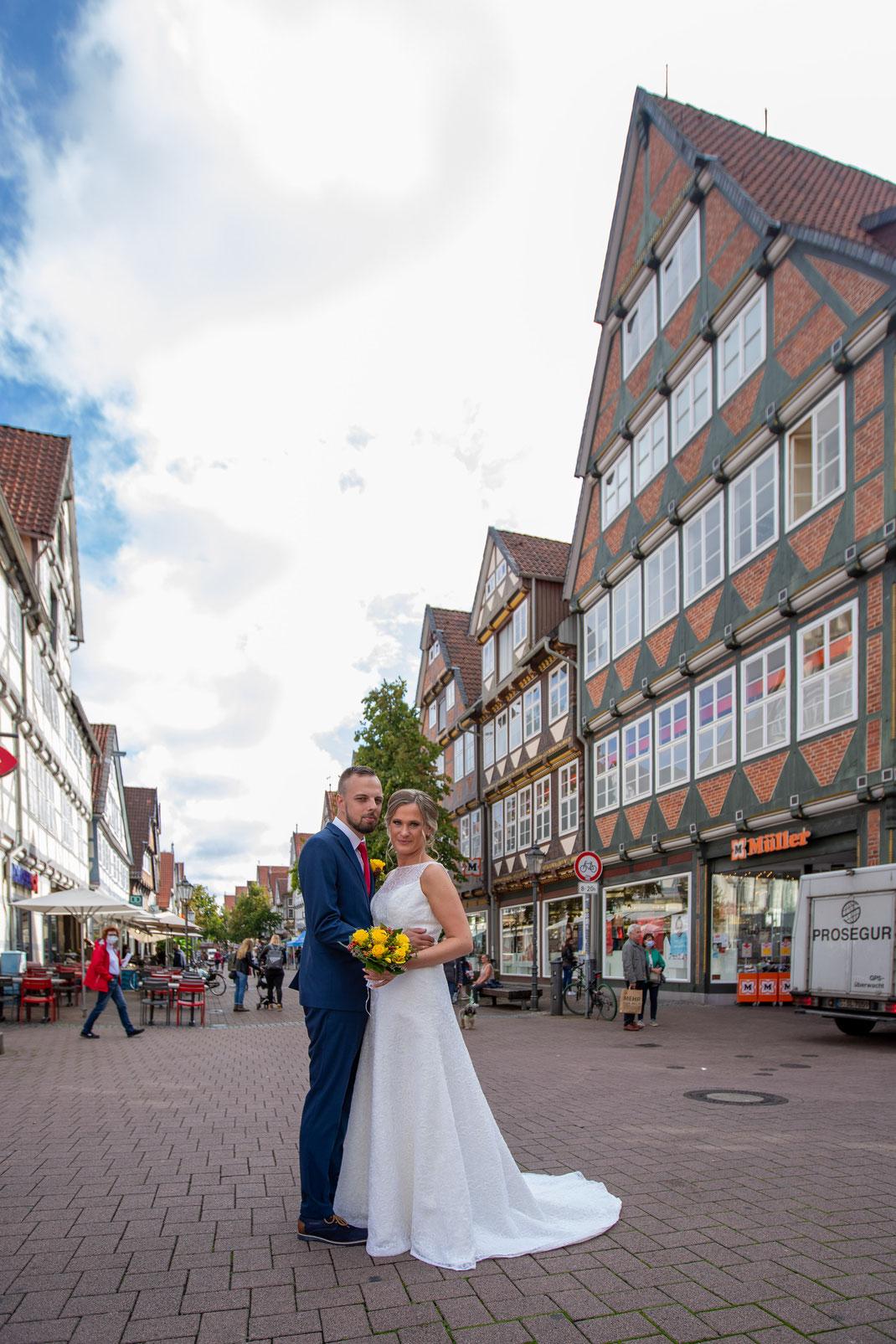 Hochzeitsfoto: Stadt Celle