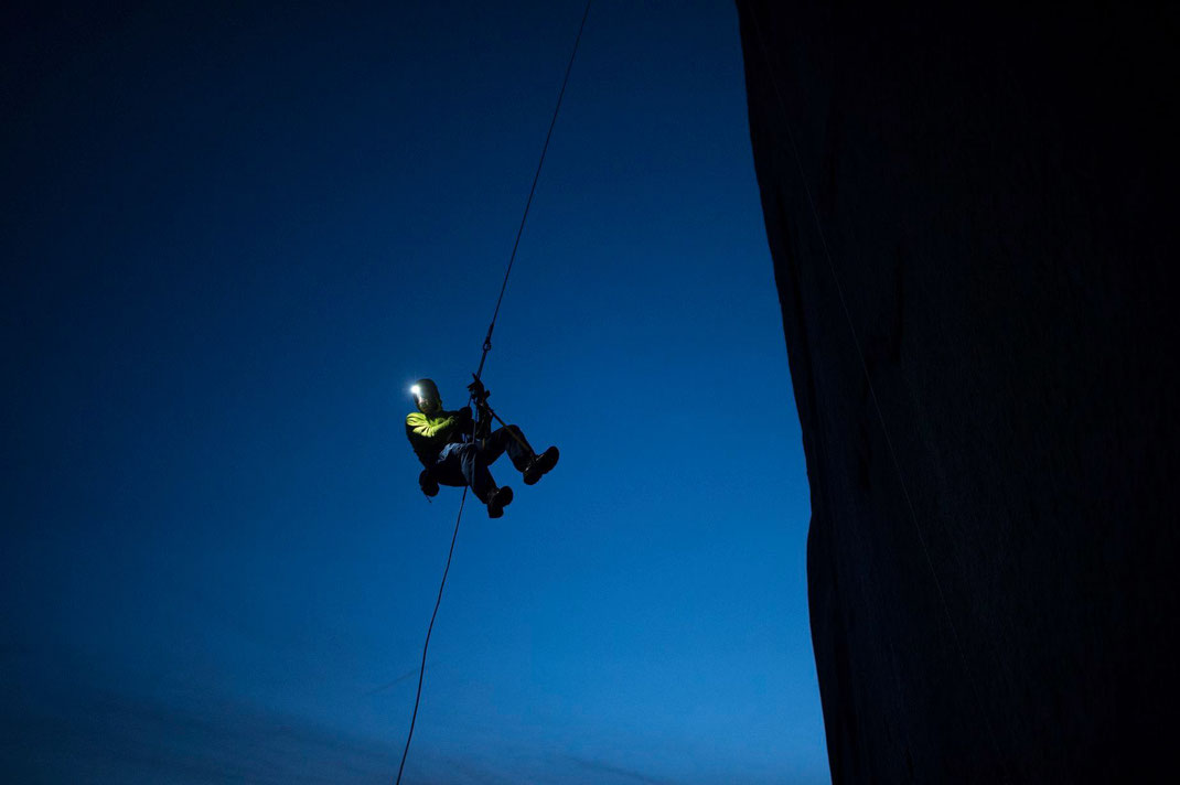 Tommy Caldwell on the Dawn Wall