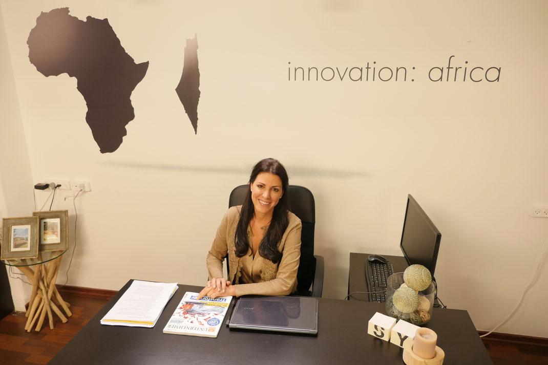 GRÜNDERIN UND CEO VON INNOVATION: AFRICA SIVAN YA'ARI