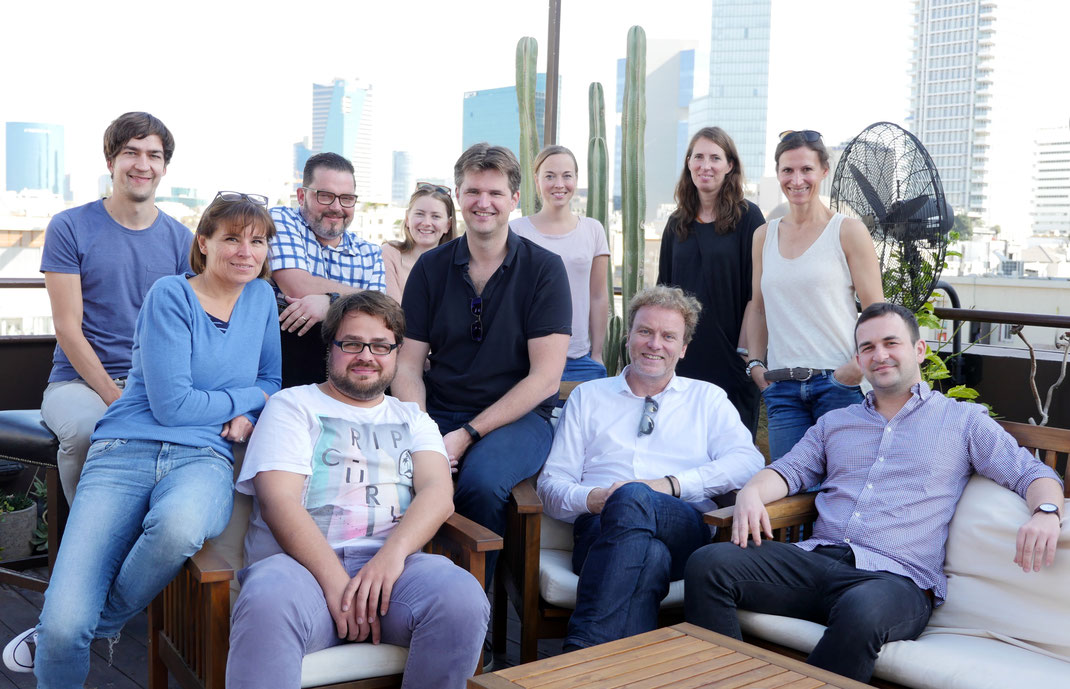 DAS JDB MEDIA SILICON WADI TEAM IN TEL AVIV
