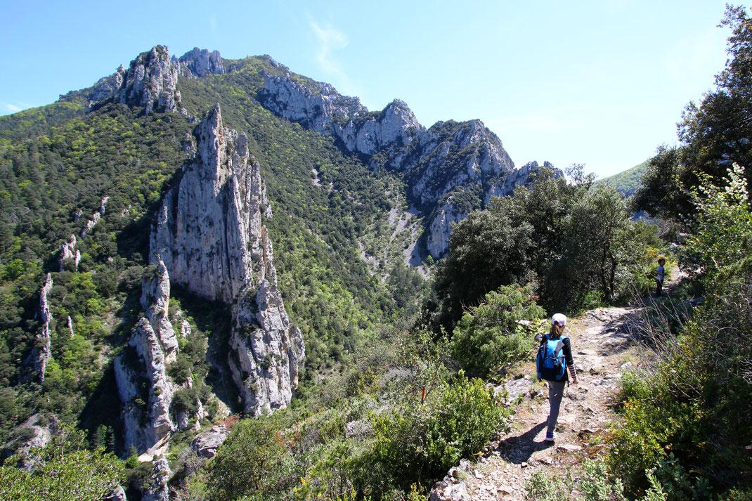 Sentier du Belvédère du Diable - Gorges de la Pierre Lys - Belvianes et Cavirac - Rando Pyrénées Audoises