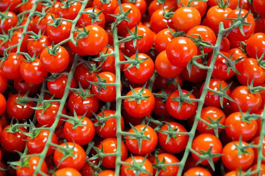 Tomaten, Markt, Wochenmarkt, Normandie, Seine-Maritime