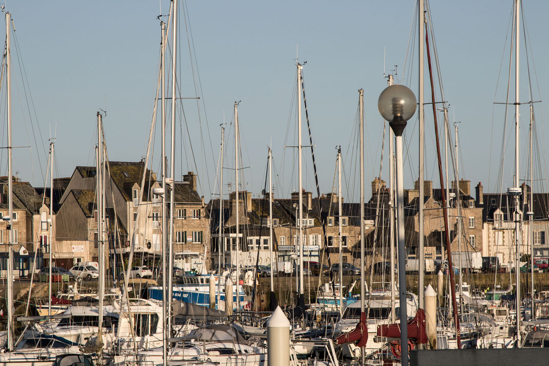 Hafen von Saint-Vaast-la-Hogue in der Normandie