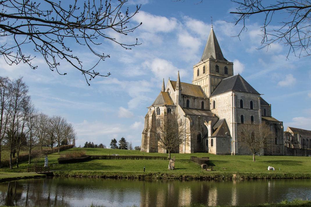 Cerisy-la-foret, Abteikirche, Normandie