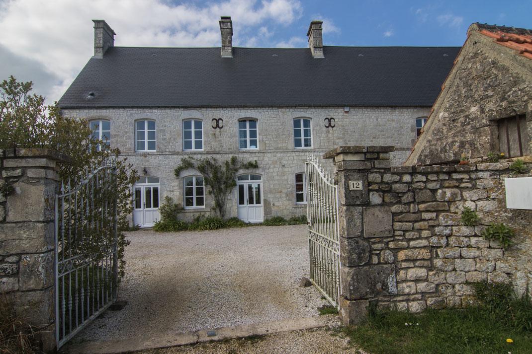 Eine herrschaftliche Chambre d'Hôtes auf der Cotentin-Halbinsel in der Normandie