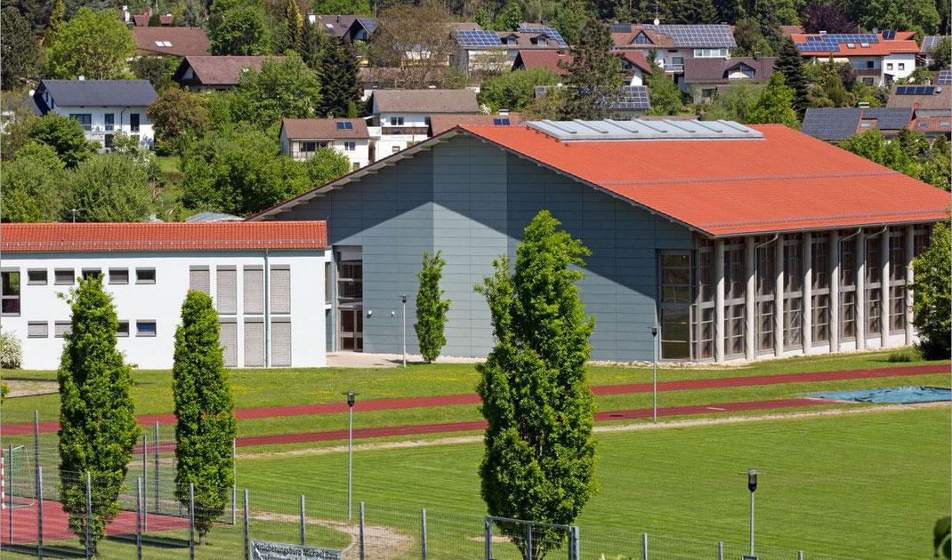 Turnhalle bei der Realschule