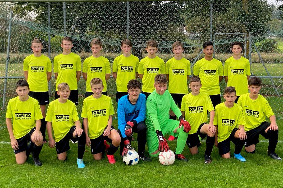 C1-Jugend (11er-Mannschaft) im Herbst 2019