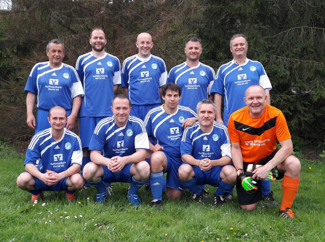 Das AH-Team, das im Frühjahr 2017 in Achstetten antrat