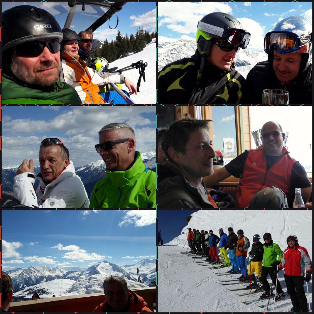 Bilder von der Skiausfahrt 2017