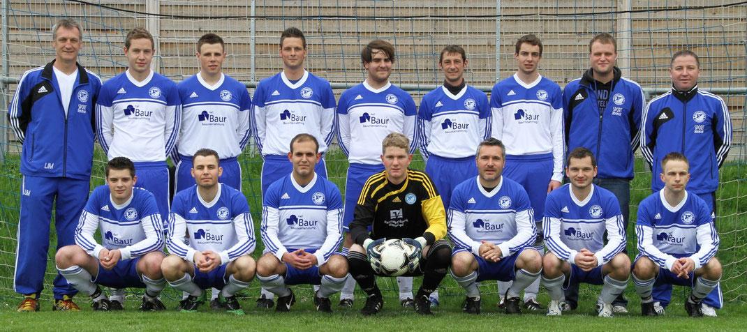 SVE II in der Saison 2012/13 (damals Kreisliga B)