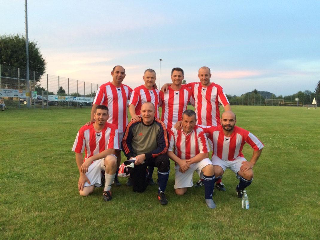 Das Siegerteam beim AH Turnier in Wain 2015