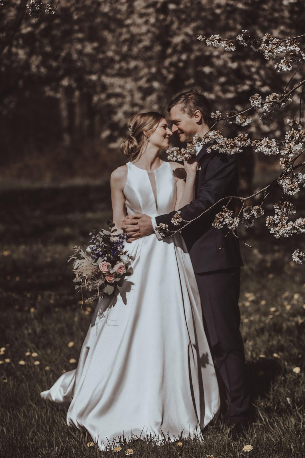 romantischer Traum einer kleinen persönlichen Trauung
