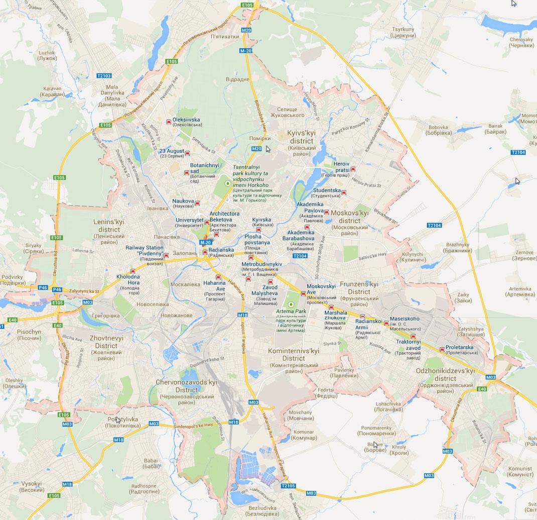 Carte de Kharkov