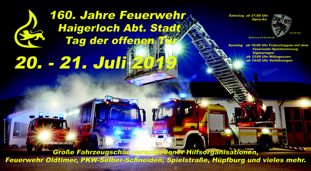 160.Jahre Feuerwehr Haigerloch was ist los am Wochenende bei der Feuerwehr Haigerloch