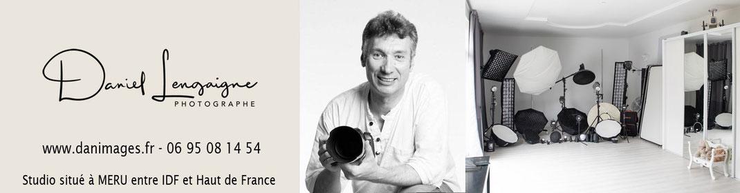 Daniel Lengaigne; studio Danimages situé à Méru dans l'oise aux portes du val d'oise