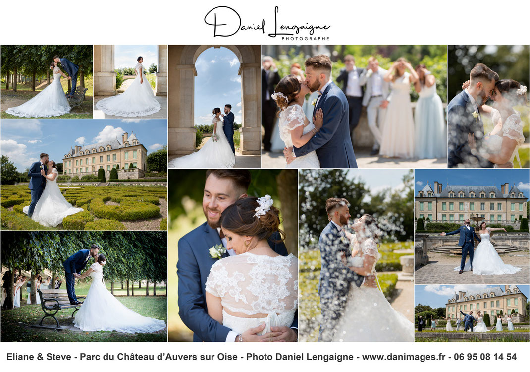 Mariage-chateau d'auvers sur oise- www.danimage.fr