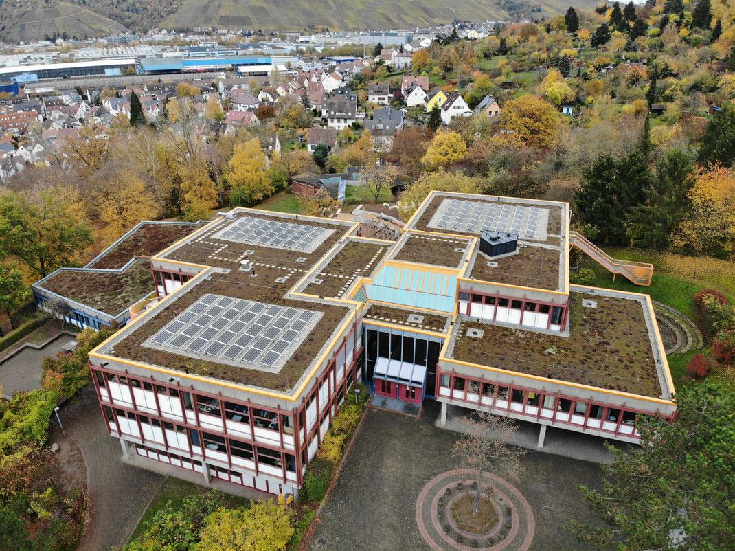 Lage der Steinenbergschule am Steinenberg in Stuttgart-Hedelfingen