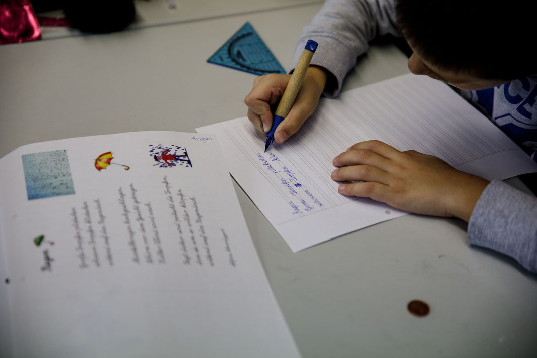 Individuelles Lernen in der Ganztagesbetreuung