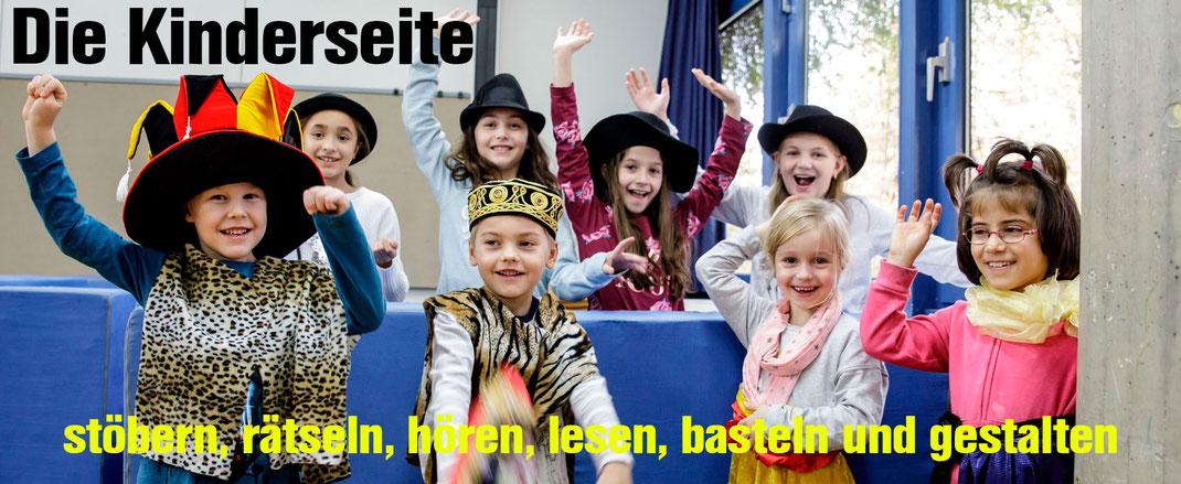 Die Kinderseite der Steinenbergschule in Stuttgart-Hedelfingen