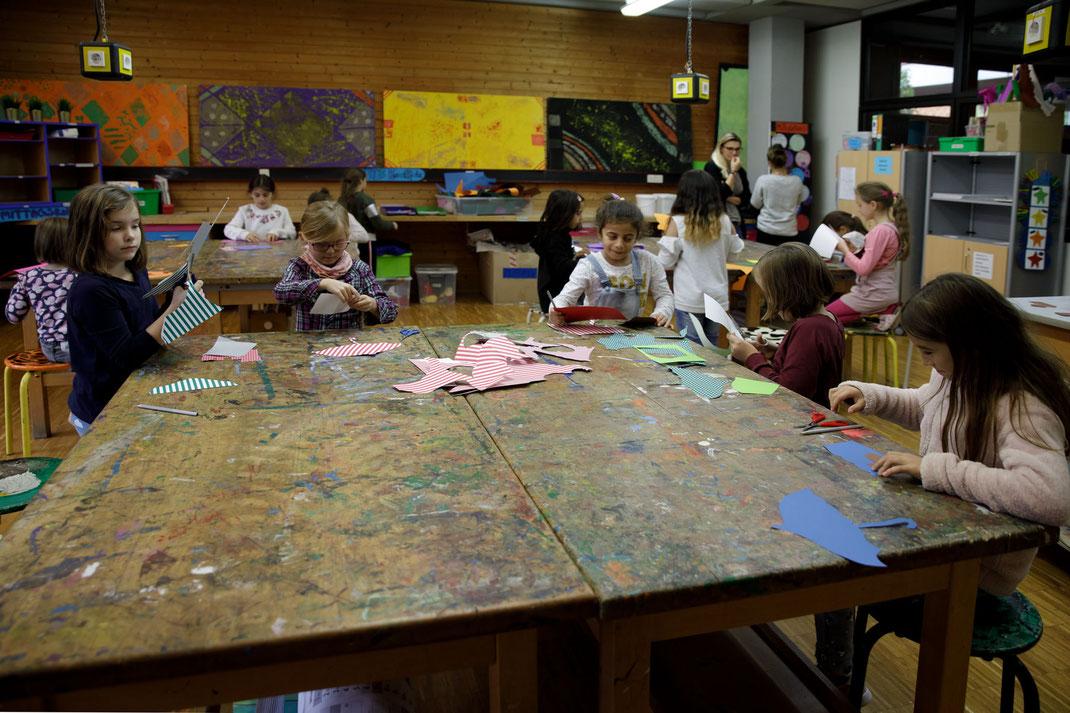 Zusätzliche Betreuungsangebote in der Steinenbergschule