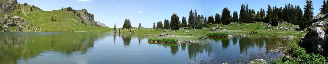 Seebergsee Panorama Diemtigtal