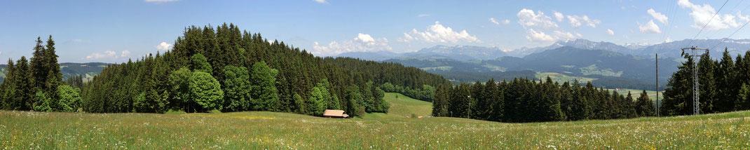 Heimenschwand Skilift Panorama