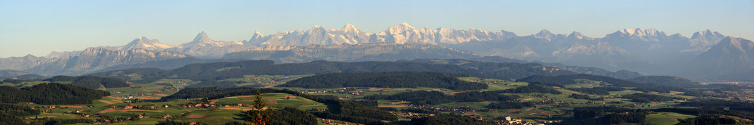 Bantiger Alpenpanorama