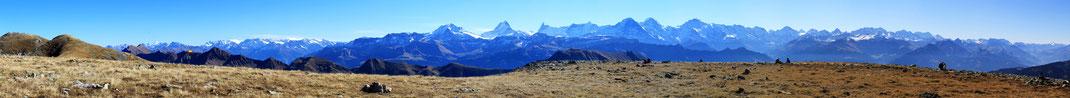 Alpenpanorama Steinigi Matte, Hohgant
