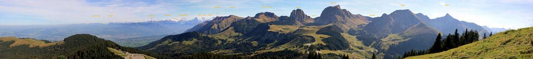 Gurnigel Selibüel Panorama