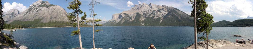 Lake Minnewanka - Panorama