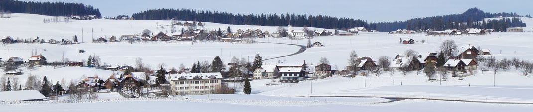 Winterpanorama Heimenschwand - Badhaus