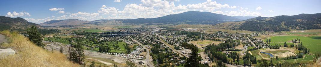 Panoramablick auf Merritt