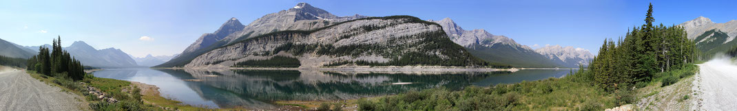 Spray Lake Panorama